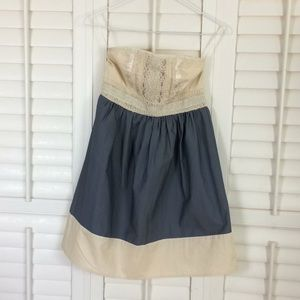 Kimchi Blue Strapless Dress XS